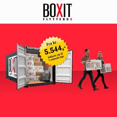 HTML5 bannerkampagne for Boxit