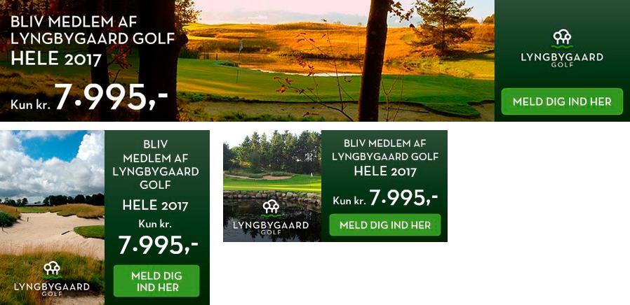 Lyngbygaard Golf Webbannere