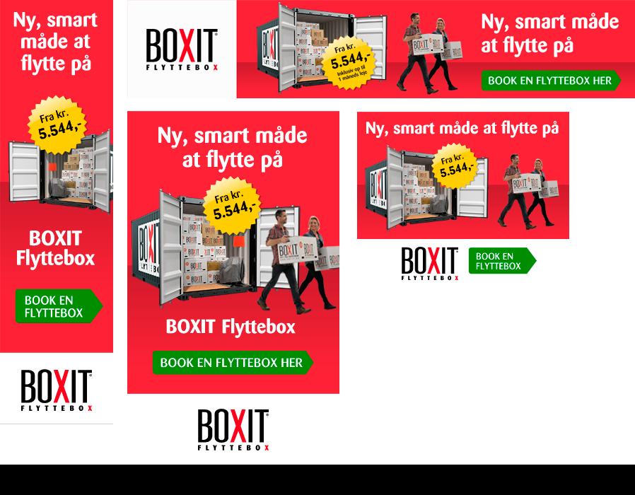 Boxit bannerkampagne HTML5